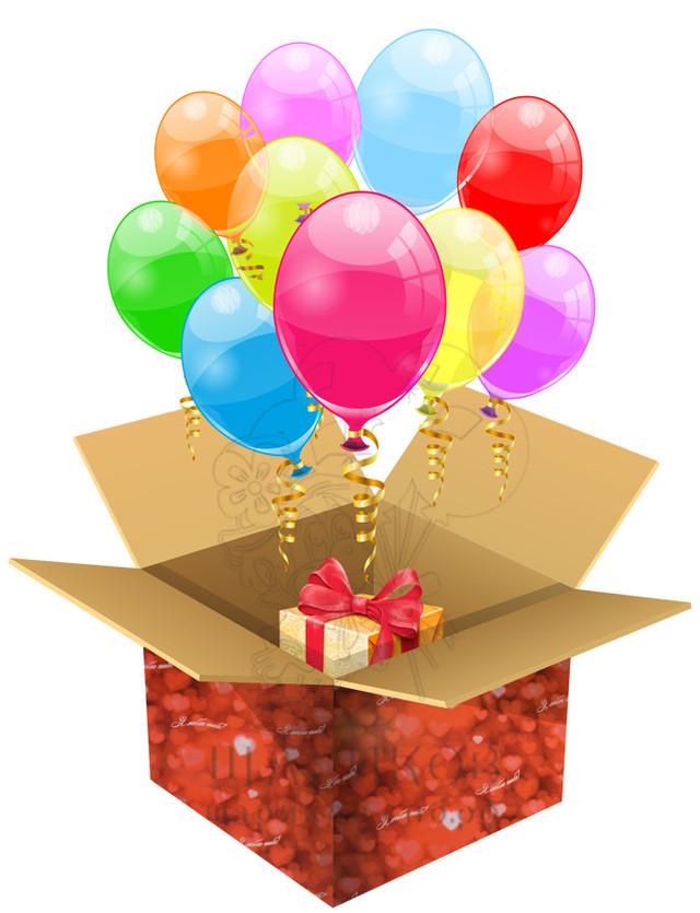 Заказать коробку с сюрпризом в Днепре