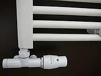 Вентиль термостатический с погружной трубкой Unico 50 мм, белый, фото 1