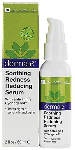 Сыворотка снимающая покраснение для чувствительной кожи *Derma E (США)*