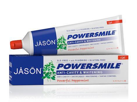 Гелевая зубная паста отбеливающая «Сила улыбки» с коэнзимом Q10 *Jason (США)*