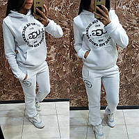Женский утепленный спортивный костюм / трехнитка с начесом / Украина 14-512, фото 1