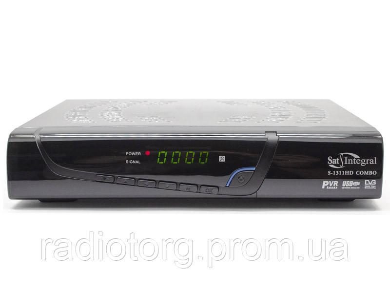 Sat-Integral S-1311 HD Combo Т2 и спутниковый ресивер