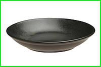 Тарелка глубокая Seasons Black Porland 260 мм 197626.Bl