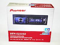 Автомагнитола пионер Pioneer DEH-5250SD DVD USB+SD, фото 6