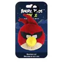 Игрушка-подвеска на рюкзак AngryBirds SPACE (птичка красная,8см)