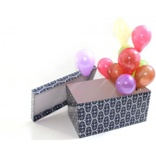Коробка сюрприз с воздушными шарами в Днепре