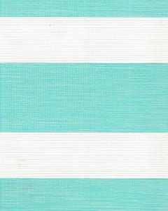 Тканевая ролета День-Ночь Олимпос 2094 бирюзовый, 100*170 см