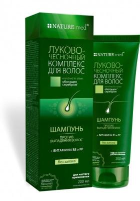 Луково-чесночный комплекс против выпадения волос шампунь 200 мл
