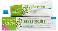 Гелевая зубная паста против зубного камня с коэнзимом Q10 Sea Fresh *Jason (США)*, фото 1