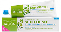 Гелевая зубная паста против зубного камня с коэнзимом Q10 Sea Fresh *Jason (США)*