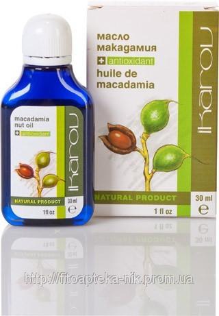 Макадамия масло 30мл (Икаров)