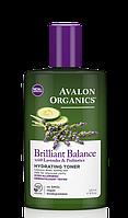 Увлажняющий тоник с экстрактами лаванды, огурца и пребиотиками *Avalon Organics (США)*
