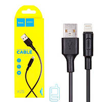 Кабель USB — Lightning HOCO X25 1м черный