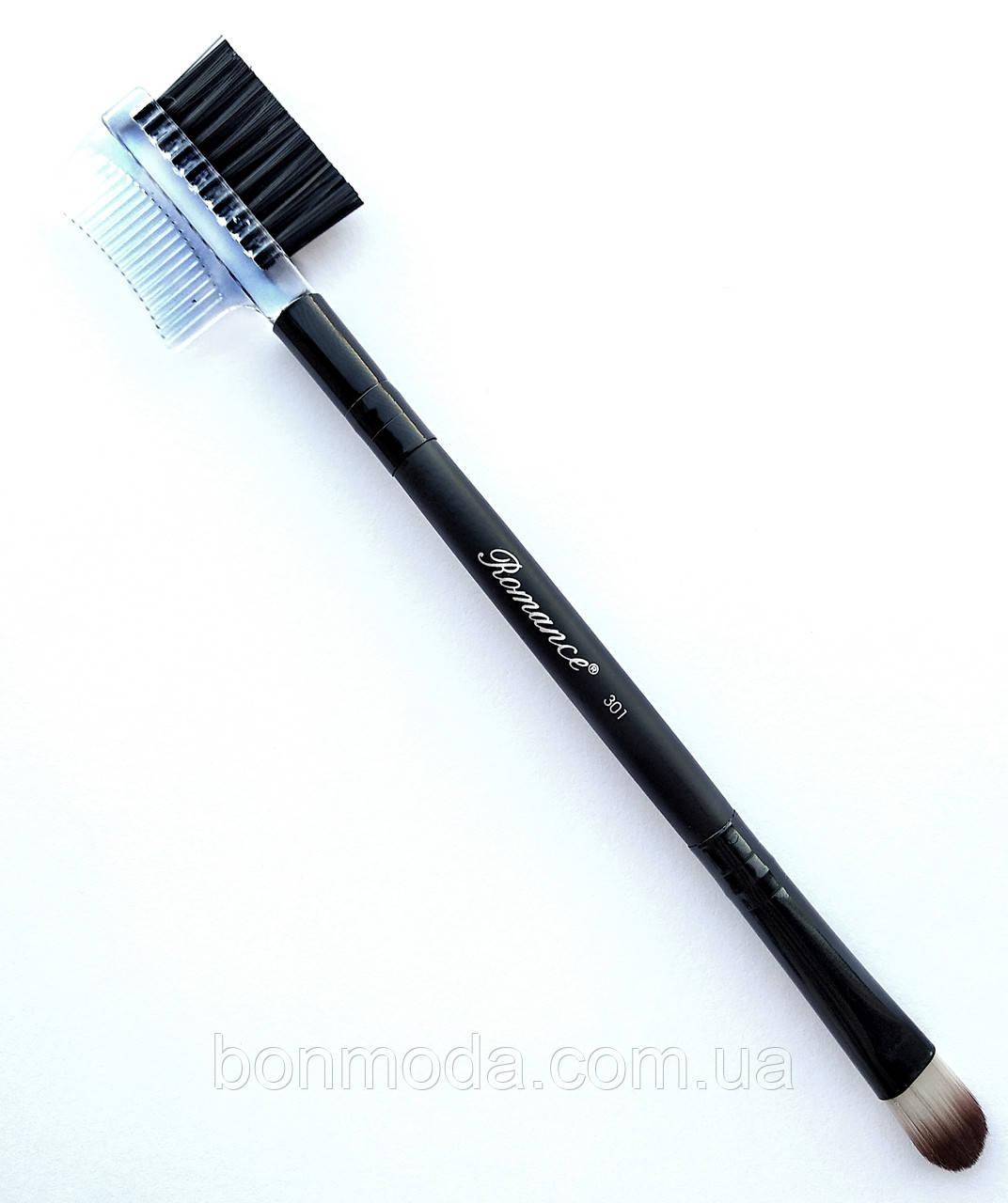 Расчёска-щётка для бровей и ресниц Romance 301
