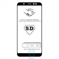 Защитное стекло Samsung J8 2018 J810 5D black без уп.