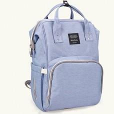 Многофункциональная сумка-рюкзак для мам Baby - MO  - мятная голубой