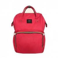 Многофункциональная сумка-рюкзак для мам Baby - MO  - мятная красная