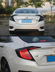 Фонари Honda Civic 10 FC тюнинг Led оптика