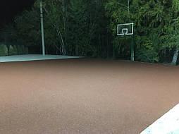 Спортивное покрытие для баскетбола 9