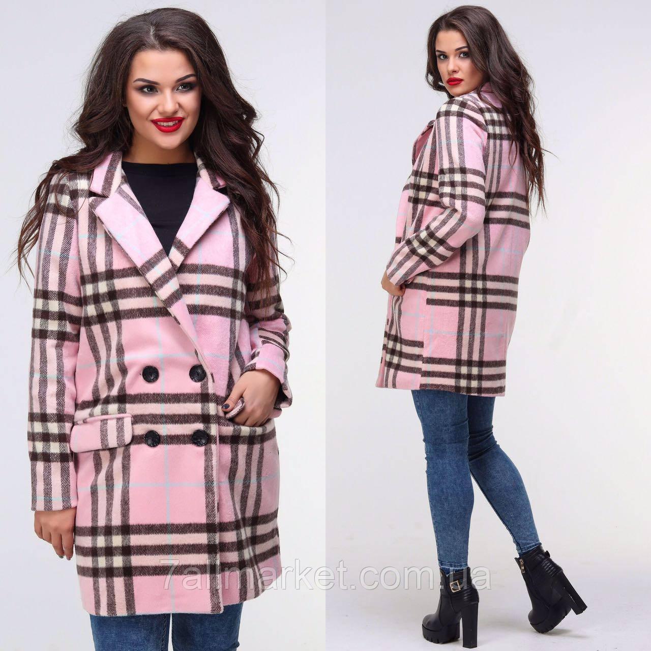 """Пальто женское кашемировое на подкладке размеры 42-48 (5цветов) """"BONJOUR"""" купить оптом в Одессе на 7км"""