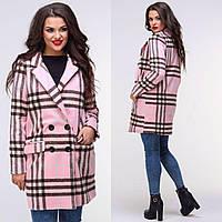 """Пальто женское кашемировое на подкладке размеры 42-48 (5цветов) """"BONJOUR"""" купить оптом в Одессе на 7км, фото 1"""