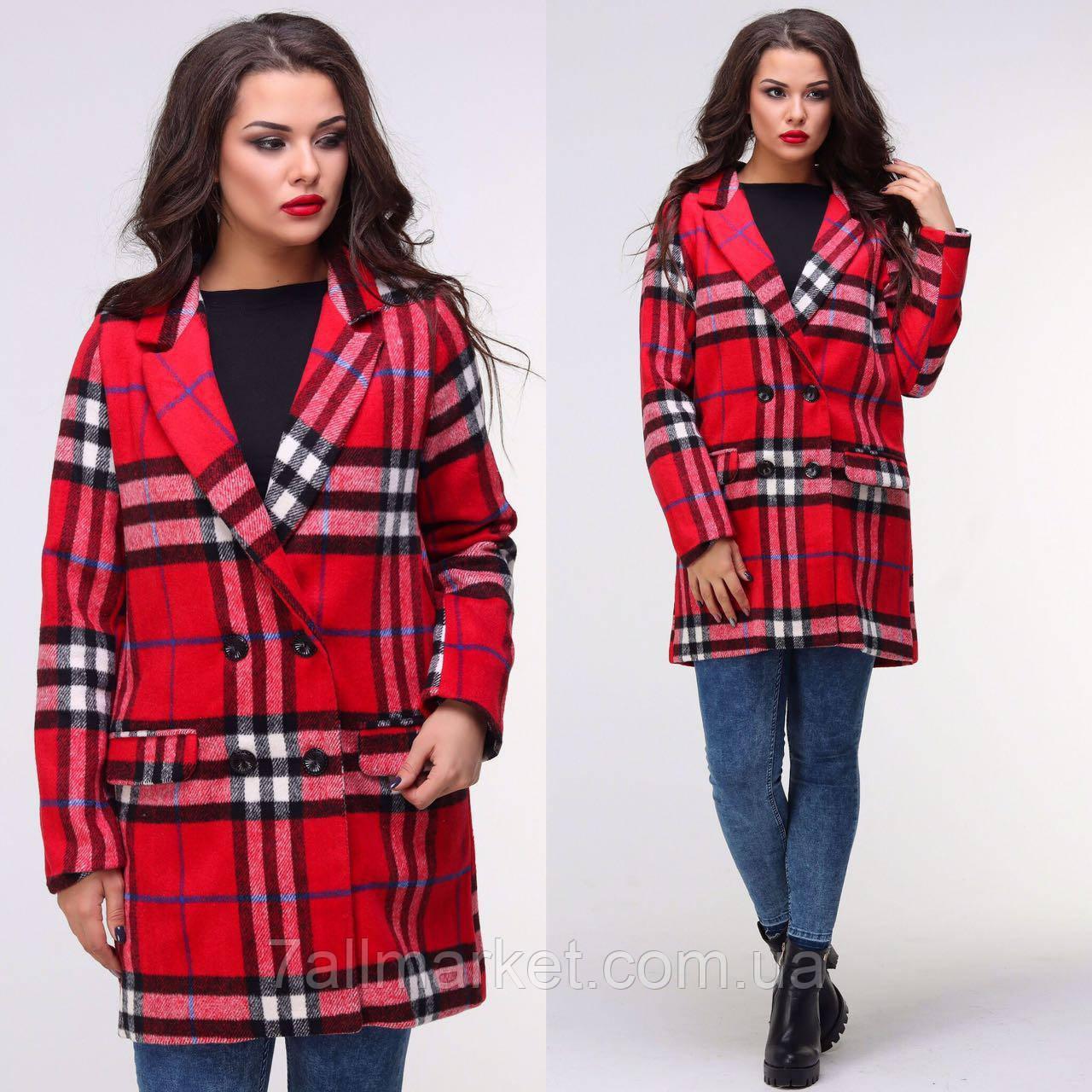 """Пальто женское кашемировое на подкладке размеры 42-48 (2цв) """"BONJOUR"""" купить оптом в Одессе на 7км"""