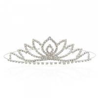 Діадема (корона, тіара) на обручі, довжина 11 см, висота 3,8 см