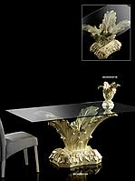 Элегантный журнальный столик в форме комки с прямоугольной столешницей - Белый стул
