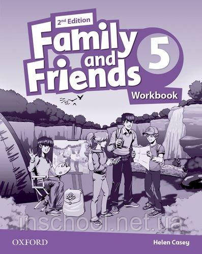 Family and Friends 2nd Edition 5 Workbook. ISBN: 9780194808101