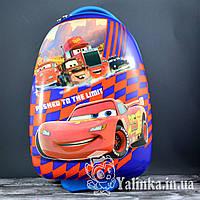 Чемодан детский дорожный на 2-х колесах Тачки CAR-505