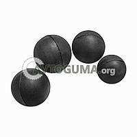 Шарик резиновый (заготовка под патрон) D 9.5 mm (0.6 g.)