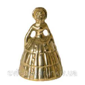 Сувенирный колокольчик в виде горничной - фото