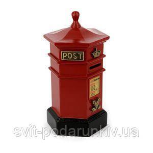 Копилка для денег в виде почтового ящика - фото