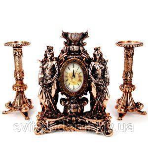 Часы настольные для камина Фортуны - фото