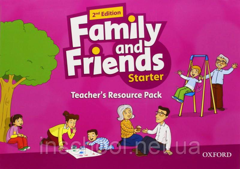 Family and Friends 2nd Edition Starter Teacher's Resource Pack. ISBN: 9780194809283