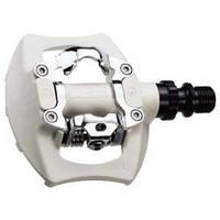 Педаль  EXUSTAR PM811 MTB ось Cr-Mo, шипы С05, пром подшибник (Размер: 95х83мм. ) серебристый