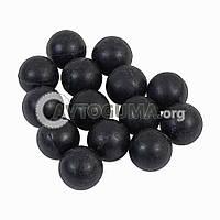 Шарик резиновый (заготовка под патрон) D 9.7 mm (0.65 g.)