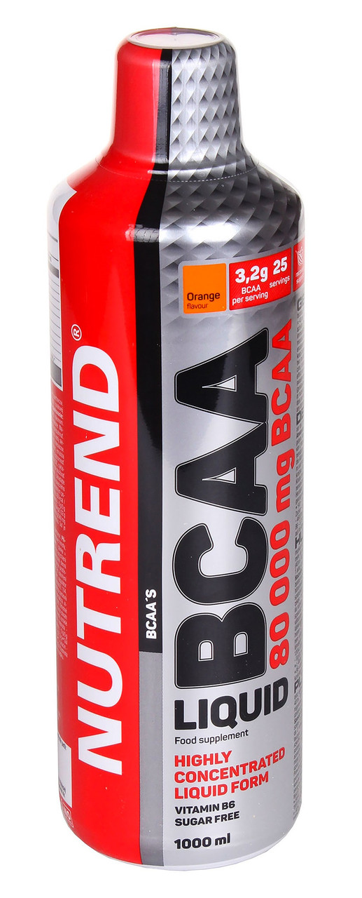 BCAA Nutrend BCAA Liquid 1000 ml orange