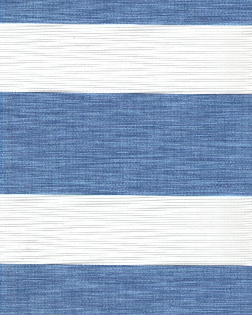 Тканевая ролета День-Ночь Олимпос 2093 синий, 100*170 см