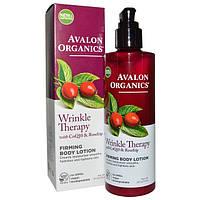 Лосьон для тела против морщин для упругости кожи с коэнзимом Q10 и маслом шиповника *Avalon Organics (США)*