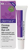 Лифтинг для кожи вокруг глаз с ДМАЭ для упругости кожи *Derma E (США)*
