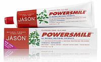 Отбеливающая зубная паста без фтора «Ваниль - Мята» Powersmile® *Jason (США)*