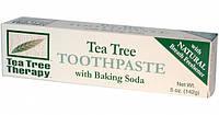 Зубная паста с питьевой содой и маслом чайного дерева *Tea Tree Therapy (США)*, фото 1