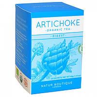 Чай АРТИШОК органический Natur Boutique, 20 фильтр-пакетов Детокс