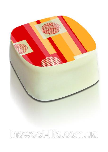 Трансфер-переводной лист для шоколада  4 цвета  5шт/упаковка