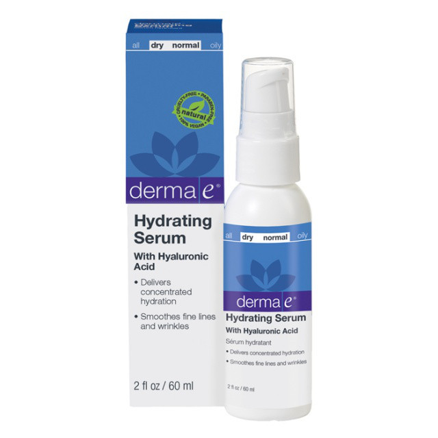 Увлажняющая сыворотка с гиалуроновой кислотой *Derma E (США)*
