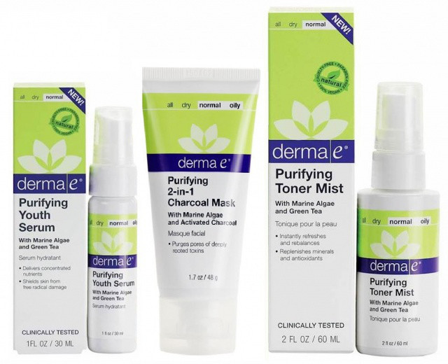 Программа «Ежедневного очищения кожи от токсинов» * Derma E (США) *