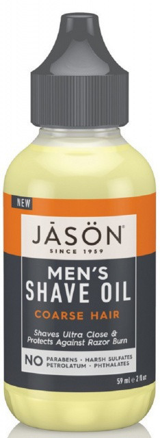 Масло для бритья для жесткой щетины *Jason (США)*