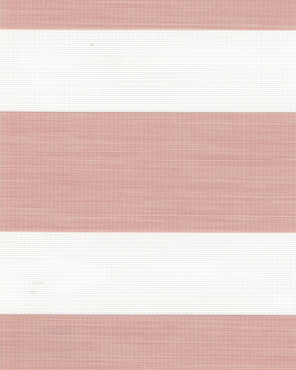 Тканевая ролета День-Ночь Олимпос 2091 розовый, 50*170 см
