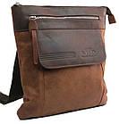 Вертикальная мужская кожаная сумка Always Wild BAG4HB, фото 3